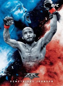2017 Topps UFC Fire MMA Cards 22