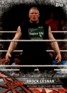 2017 Topps WWE Road to WrestleMania Trading Cards 22