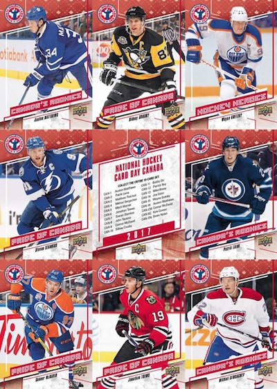 2017 Upper Deck National Hockey Card Day 1