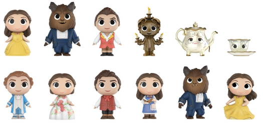 2017 Funko Beauty and the Beast Mystery Minis 3