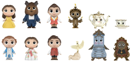 2017 Funko Beauty and the Beast Mystery Minis 4