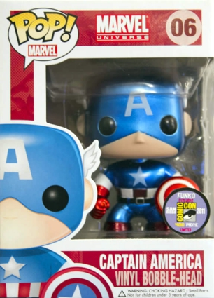Ultimate Funko Pop Captain America Figures Checklist and Gallery 23