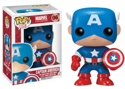 Ultimate Funko Pop Captain America Figures Checklist and Gallery 1