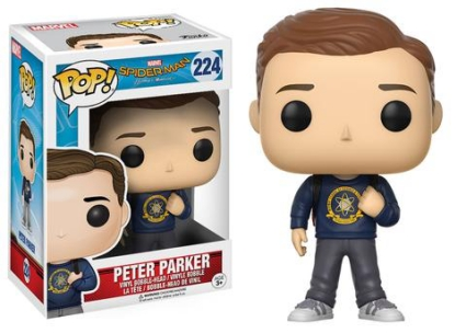 Funko Pop Spider-Man Homecoming Vinyl Figures 8