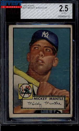 Press Release: Multiple Set Breaks of 1952 Topps Highlight Invest in Baseball Auction 3