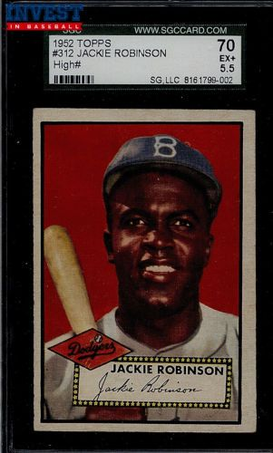 Press Release: Multiple Set Breaks of 1952 Topps Highlight Invest in Baseball Auction 4