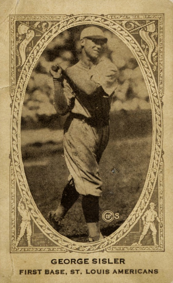 Top 10 George Sisler Baseball Cards 10