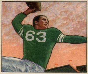 1950 Bowman Football Cards 3