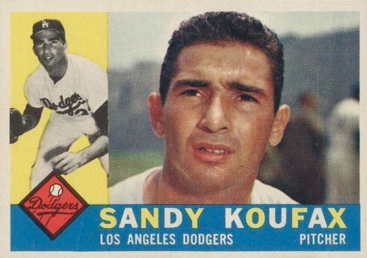 Top 10 Vintage Baseball Card Singles of 1960 3