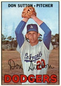 Top 10 Don Sutton Baseball Cards 9