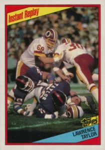 Top 10 Lawrence Taylor Football Cards 4