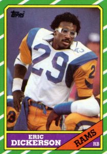 Top Eric Dickerson Cards