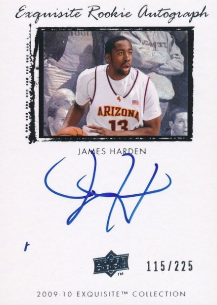 Top 10 James Harden Rookie Cards 9