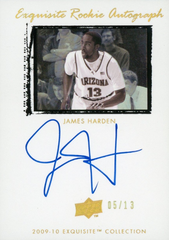 Top 10 James Harden Rookie Cards 10