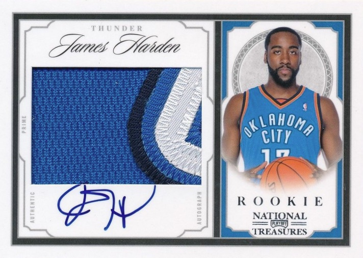 Top 10 James Harden Rookie Cards 11
