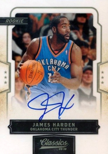 Top 10 James Harden Rookie Cards 6