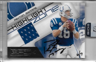 2016 Panini Honors Football Cards 22
