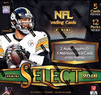 2016 Panini Select Football Cards 36