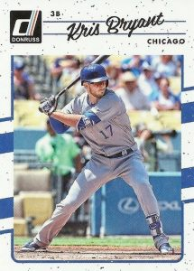 2017 Donruss Baseball Variations Guide 5