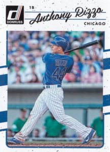 2017 Donruss Baseball Variations Guide 9