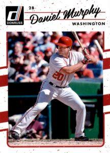2017 Donruss Baseball Variations Guide 26