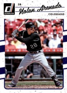 2017 Donruss Baseball Variations Guide 11