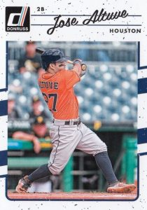 2017 Donruss Baseball Variations Guide 17