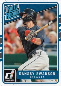 2017 Donruss Baseball Cards 22