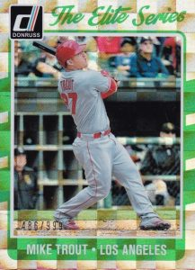2017 Donruss Baseball Cards 38