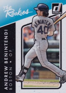 2017 Donruss Baseball Cards 40