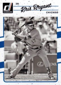 2017 Donruss Baseball Variations Guide 6