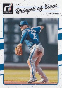 2017 Donruss Baseball Variations Guide 25