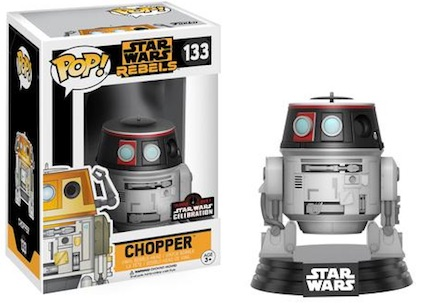 2017 Funko Star Wars Celebration Exclusives