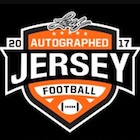 2017 Leaf Autographed Football Jersey