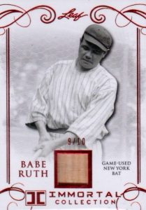 2017 Leaf Babe Ruth Immortal Collection Baseball Cards 24