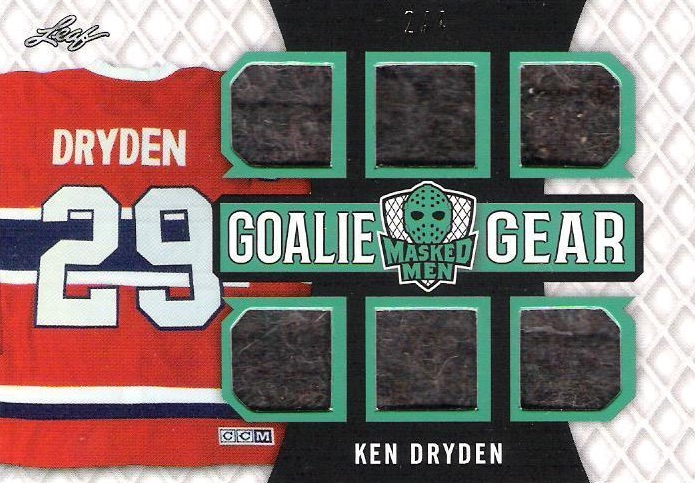 2017 Leaf Masked Men Hockey Cards - Checklist Added 19