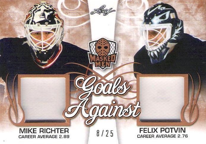 2017 Leaf Masked Men Hockey Cards - Checklist Added 21