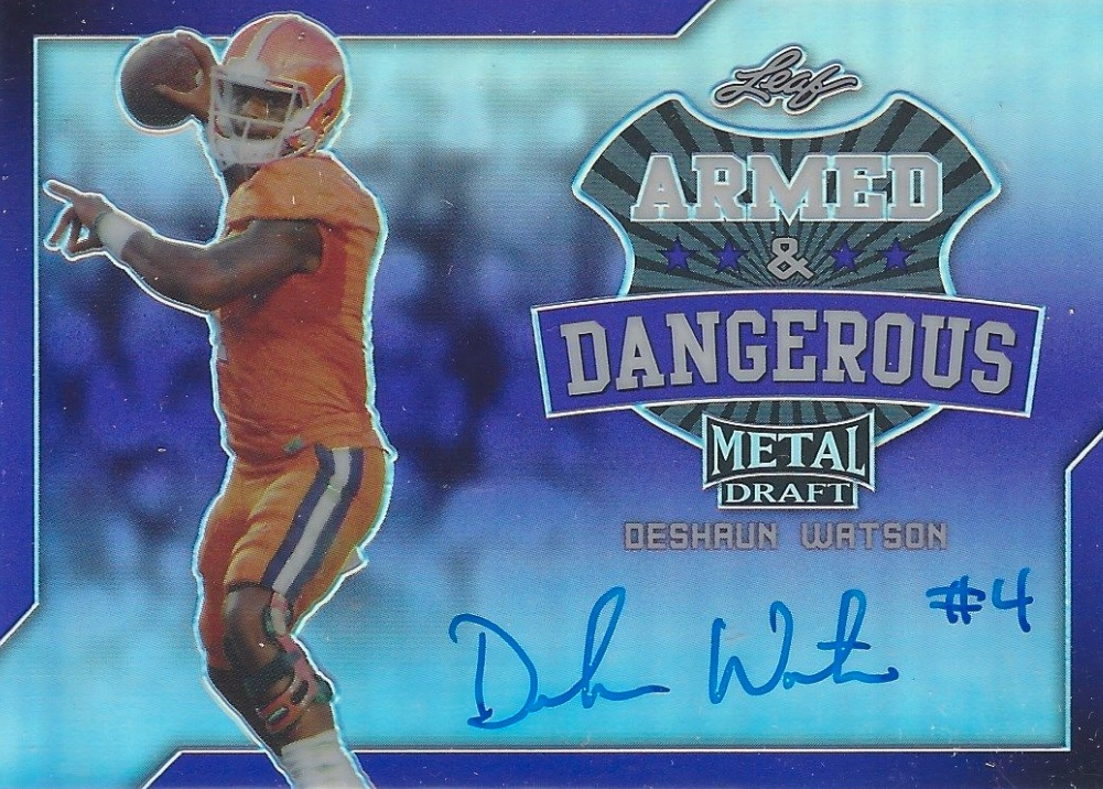 2017 Leaf Metal Draft Football Cards 22