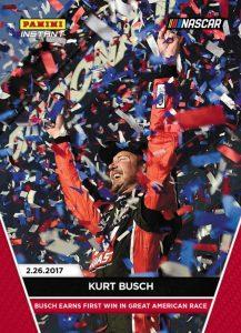 2017 Panini Instant NASCAR Racing Cards 10
