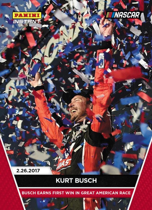 2017 Panini Instant NASCAR Racing Cards 1