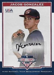 2017 Panini Stars and Stripes USA Baseball Cards 22