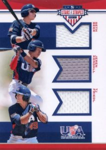 2017 Panini Stars and Stripes USA Baseball Cards 24