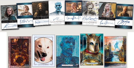 2017 Rittenhouse Game of Thrones Season 6 Trading Cards 3