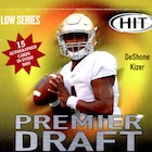 2017 Sage Hit Premier Draft Series Football Cards - High Series Checklist