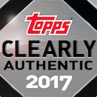 2017 Topps Clearly Authentic Baseball Cards