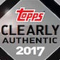 2017 Topps Clearly Authentic Baseball