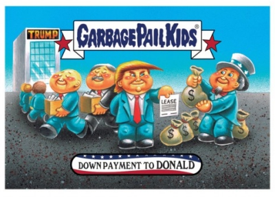 2017 Topps Garbage Pail Kids Trumpocracy