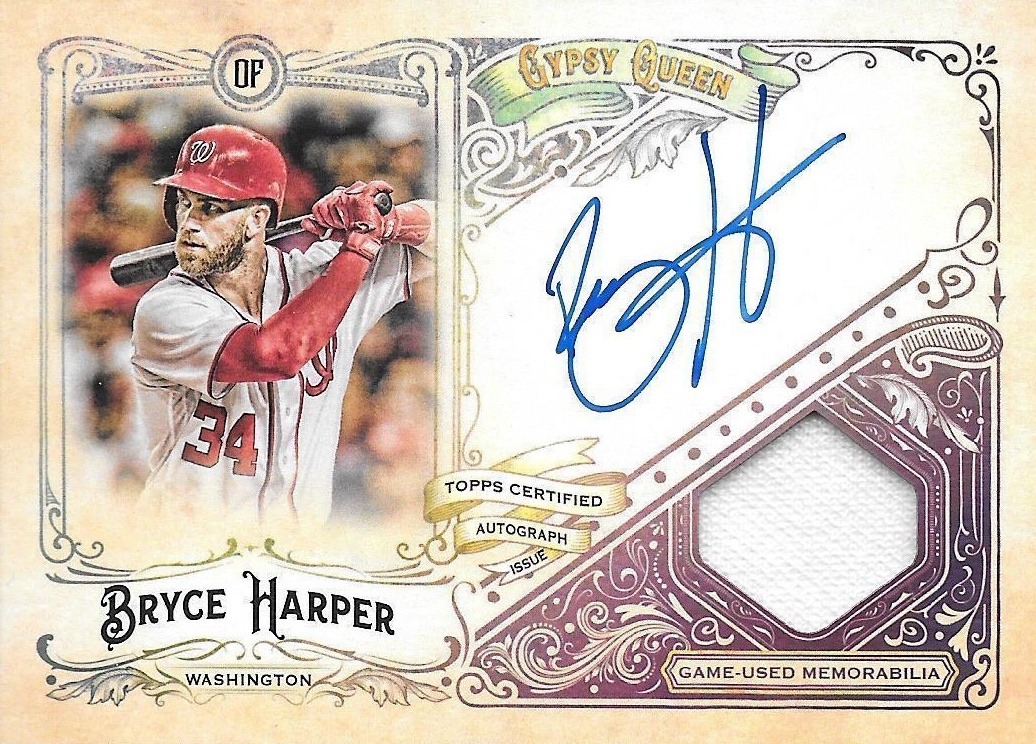 2017 Topps Gypsy Queen Baseball Cards 24