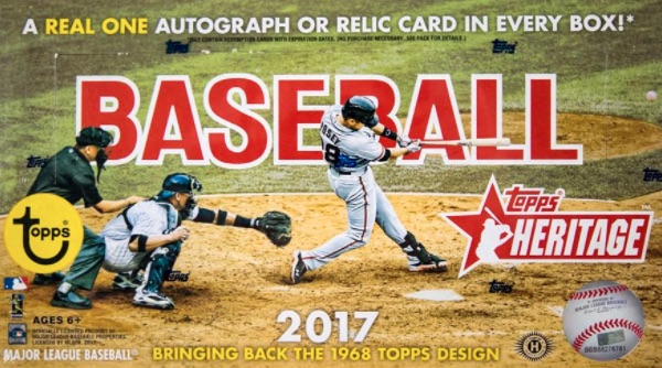2017 Topps Heritage Baseball Cards 43