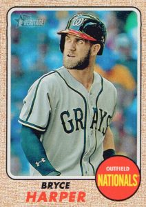 Full 2017 Topps Heritage Baseball Variations Checklist and Gallery 199